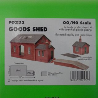 Metcalfe Metcalfe PO232 Goods shed (H0/OO gauge)