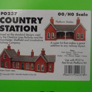 Metcalfe Country station (H0/OO)