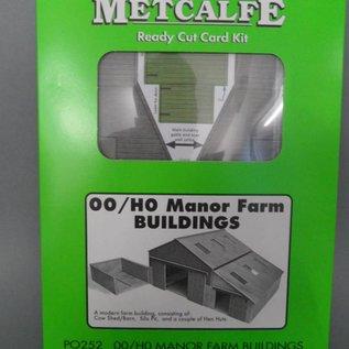 Metcalfe Metcalfe PO252 Moderne Bauernscheune (Baugröße H0/OO)