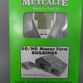 Metcalfe PO252 Manor farm buldings