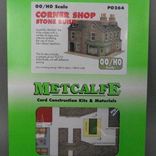 Metcalfe Metcalfe PO264 Stone corner shop (H0/OO gauge)