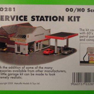 Metcalfe Metcalfe PO281 Service station (H0/OO gauge)