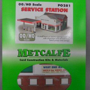 Metcalfe Metcalfe PO281 Kfz-Werkstatt mit Tankstelle (Baugröße H0/OO)