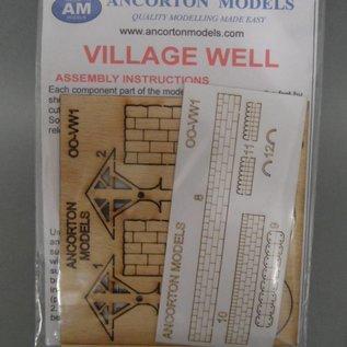 Ancorton Models Dorfbrunnen (Baugröße H0/OO)