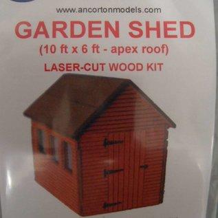 Ancorton Models OOSH2 Garden shed (OO/HO)