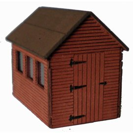 Ancorton Models OOSH2 Garden shed (OO/HO)
