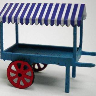 Ancorton Models Marktkarren (Schaal H0/00, lasercut)