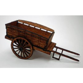 Ancorton Models Farm cart, horse drawn, H0/OO scale