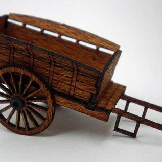 Ancorton Models Bauernwagen (Baugröße H0/OO Lasergeschnitten)
