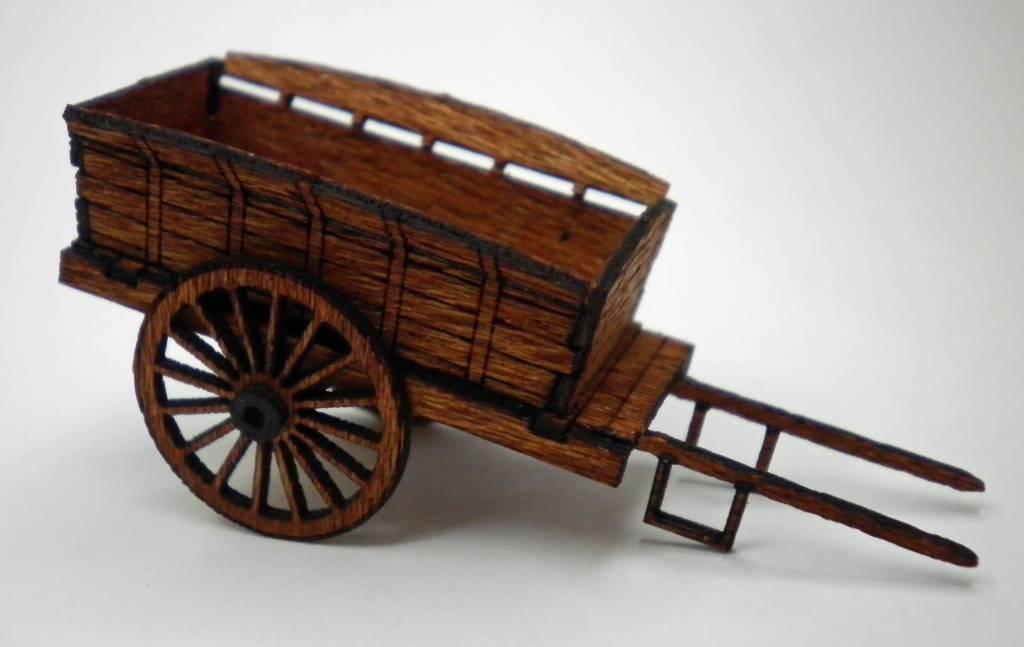farm cart horse drawn h0 oo scale