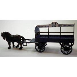 Ancorton Models Kolenwagen (Schaal H0/00, lasercut)