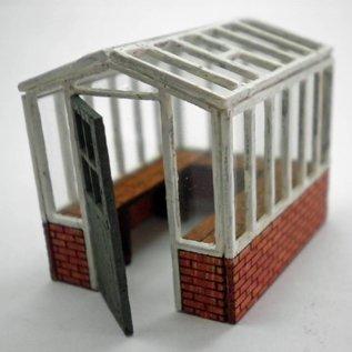 Ancorton Models Broeikas klein (Schaal H0/OO, lasercut)