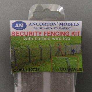 Ancorton Models Hekwerk met prikkeldraad (Schaal H0/00, lasercut)