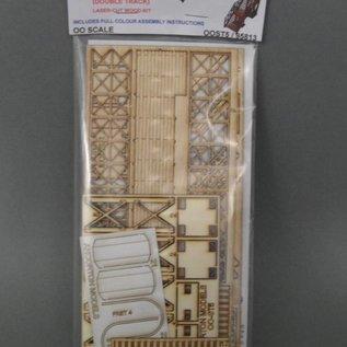 Ancorton Models Fußgängerbrücke für Bahnsteig (Baugröße H0/OO Lasergeschnitten)