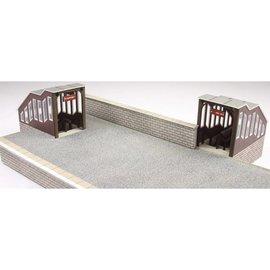 Metcalfe Fußgängerbrücke, überdacht (Baugröße H0/OO)