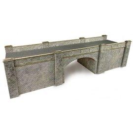 Metcalfe Spoorbrug in grijze steen (Schaal H0/00, Karton)