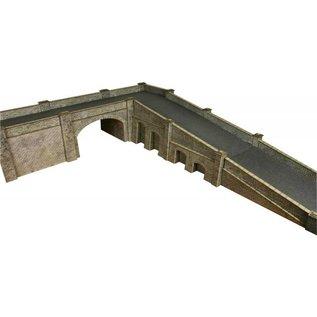 Metcalfe Metcalfe PO247 Eisenbahnbrücke in grauem Stein (Baugröße H0/OO)