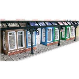 Metcalfe Metcalfe PO572 Arcade shop fronts (H0/OO gauge)