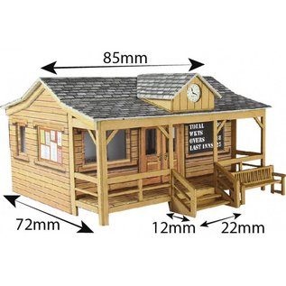 Metcalfe PO410 Wood pavilion