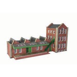 Metcalfe Kleine Fabrikhalle (Baugröße H0/OO)