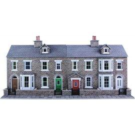 Metcalfe Metcalfe PO275 Low relief stone terraced houses (H0/OO gauge)