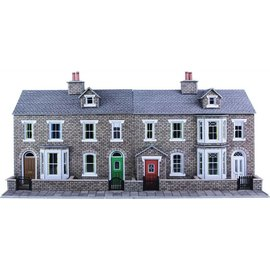 Metcalfe PO275 Low relief stone terraced houses