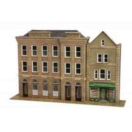 Metcalfe Voorzijde bank en winkel (Schaal H0/00, Karton)