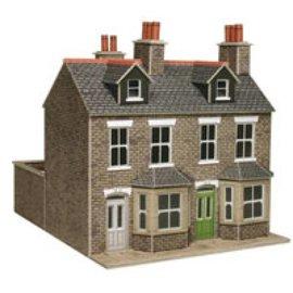 Metcalfe PO262 Stone terraced houses