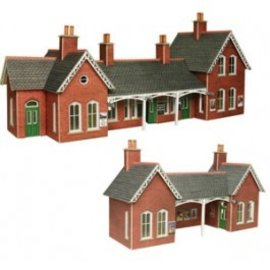 Metcalfe Metcalfe PO237 Country station (H0/OO gauge)