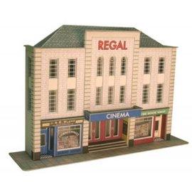 Metcalfe Vorderseite Kino (Relief/Hintergrundmodell) (Baugröße H0/OO)