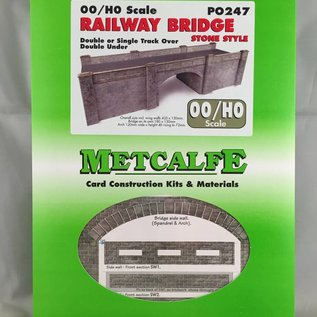 Metcalfe Metcalfe PO247 Railway bridge in stone (H0/OO gauge)