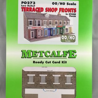 Metcalfe PO273 Low relief stone shop fronts