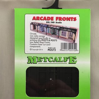 Metcalfe Metcalfe PO572 Einkaufsstraßen Überdachung (Baugröße H0/OO)