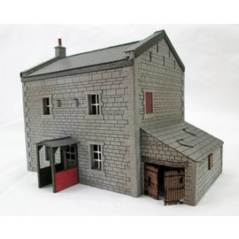 Ancorton Models Landhuis (Schaal H0/00, lasercut)