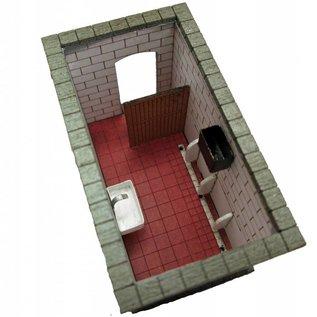 Ancorton Models Perron-toilet (schaal H0/00, lasercut)