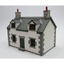 Ancorton Models Cottage (Schaal H0/00, lasercut)