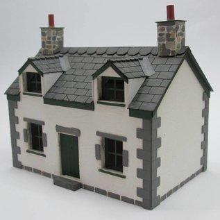 Ancorton Models Cottage (Schaal H0/00, lasercut)