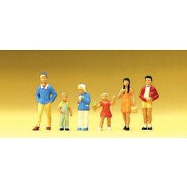 Preiser Children, 6 pieces kit, scale H0