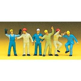 Preiser Arbeiter, Satz von 6, Spur H0