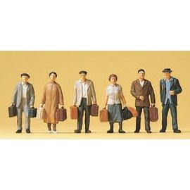 Preiser Reisende, Satz von 6, Spur H0