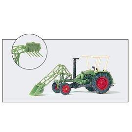 Preiser Landbouwmachine met frontlader, Schaal H0