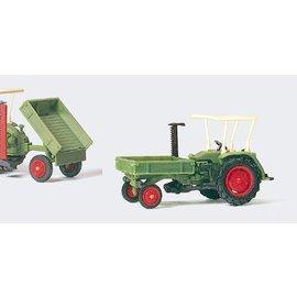 Preiser Landbouwmachine, Schaal H0