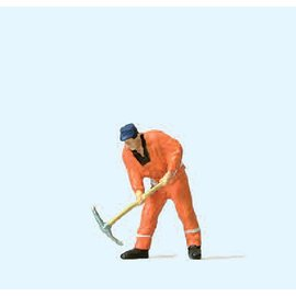 Preiser Gleisbauarbeiter, 1 Figur, Spur H0