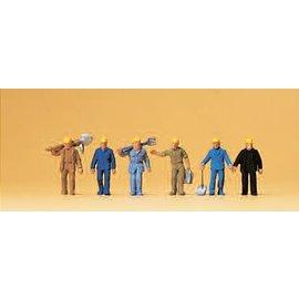 Preiser Track workers, 6 figures, scale N