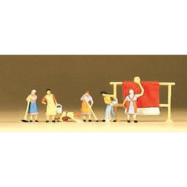 Preiser Hausfrauen, 6 Figure, Spur N