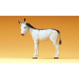 Preiser Donkey, 1 figure, scale 1:25