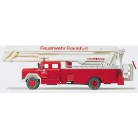 Preiser Gelenkbühne Feuerwehr, 1 Figur, Spur H0