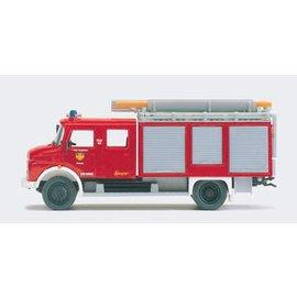 Preiser Schlauchwagen Feuerwehr, 1 Figur, Spur H0