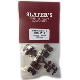 Slater's Plastikard Assorted luggage 18 pcs