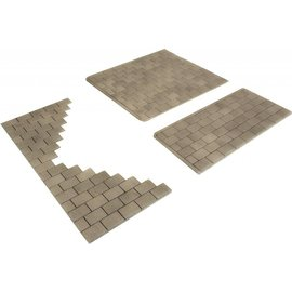 Metcalfe Metcalfe PO210 Self adhesive stone paving salbs (H0/OO gauge)